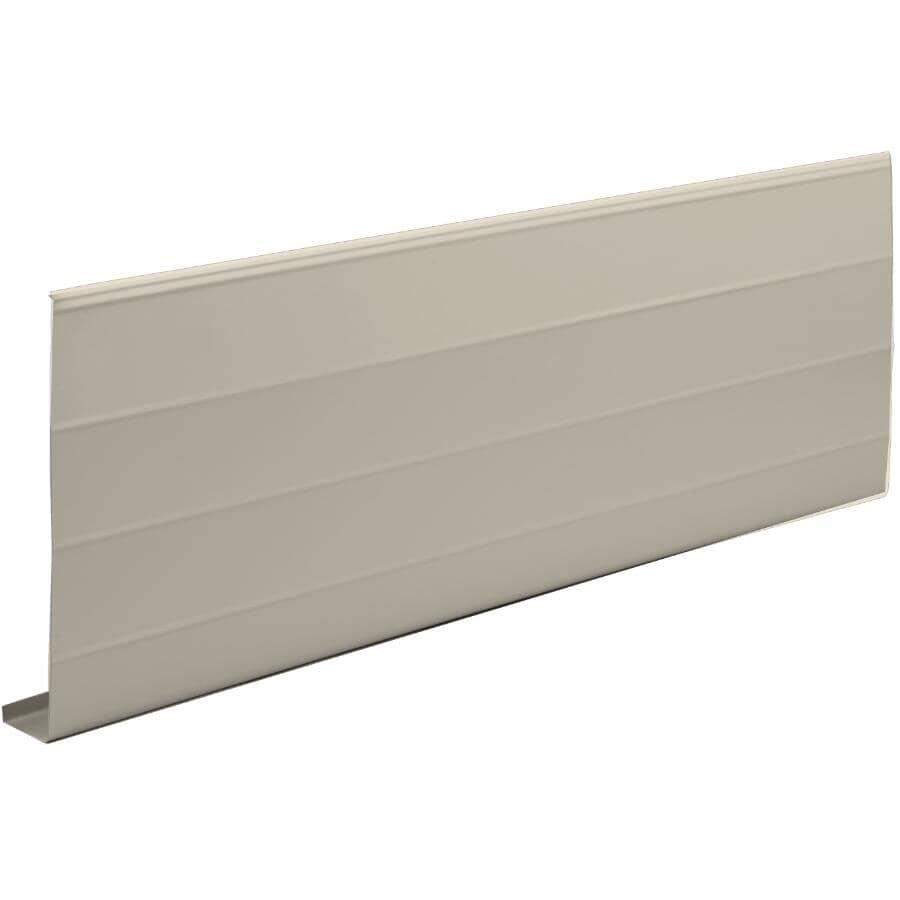 "KAYCAN:1"" x 8"" x 10' Sable Ribbed Aluminum Fascia"