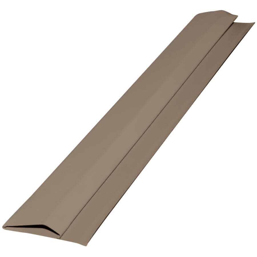 GENTEK:10' Dark Drift Aluminum Gable Trim