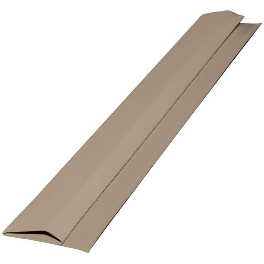 GENTEK:10' Pebble Aluminum Gable Trim