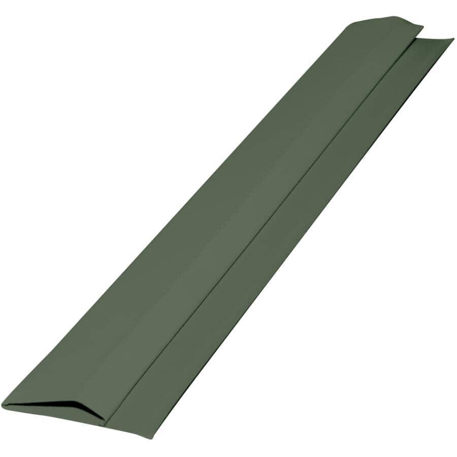 GENTEK:10' Moonlit Moss Aluminum Gable Trim