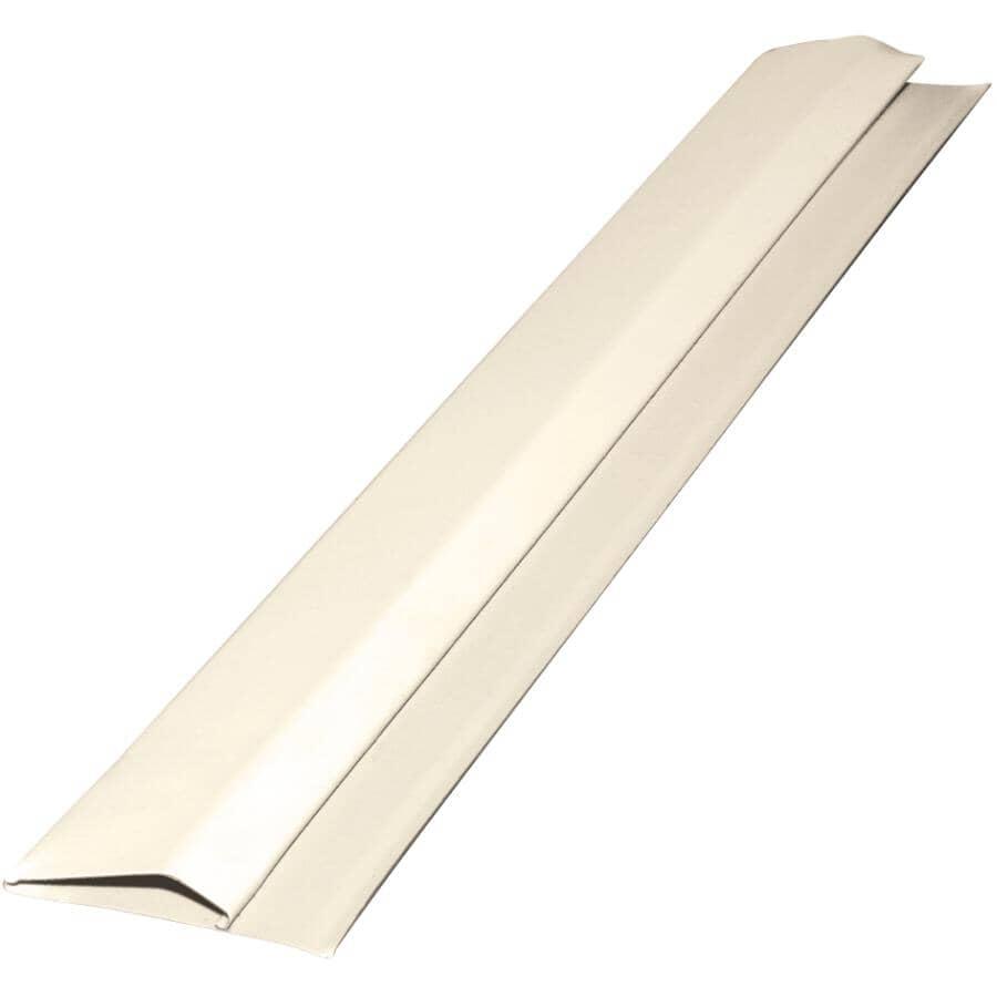 GENTEK:10' Low Gloss Cashmere Aluminum Gable Trim