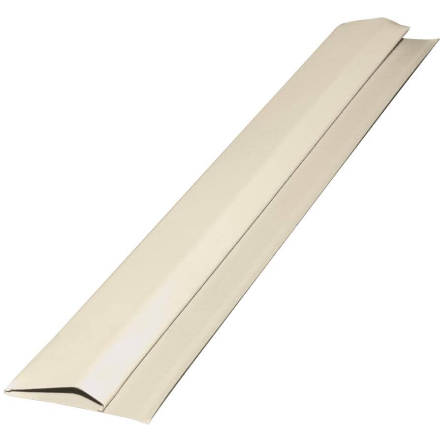 GENTEK:10' Almond Aluminum Gable Trim