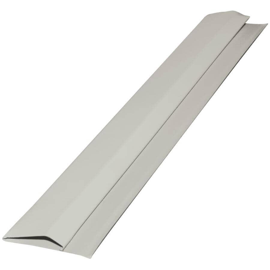 GENTEK:10' Pearl Aluminum Gable Trim