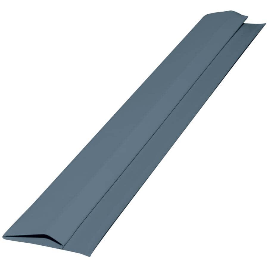 GENTEK:10' Wedgewood Blue Aluminum Gable Trim