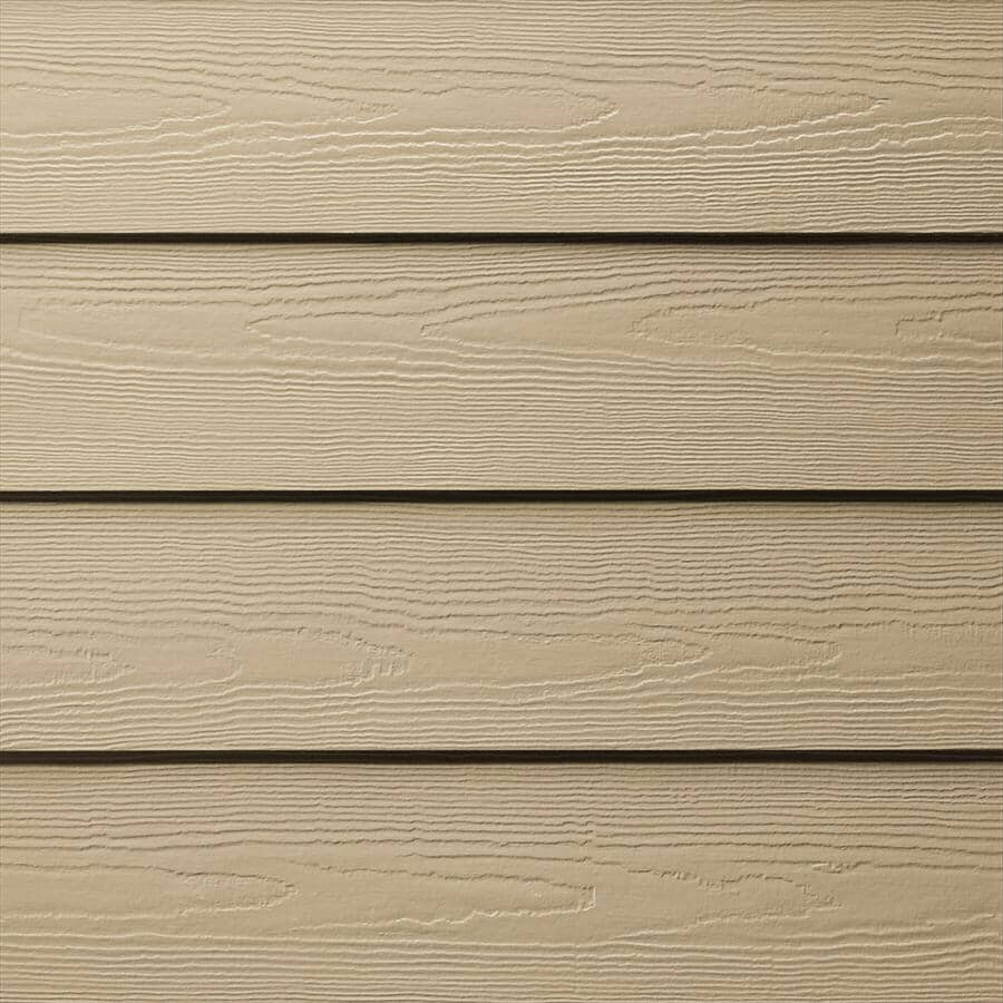 "JAMES HARDIE:8-1/4"" x 12' Autumn Tan Cedarmill HZ5 Cement Siding"