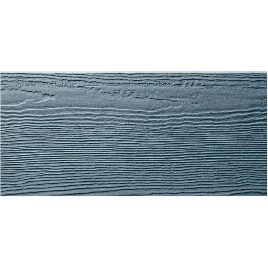 "JAMES HARDIE:8-1/4"" x 12' Boothbay Blue Cedarmill HZ5 Cement Siding"