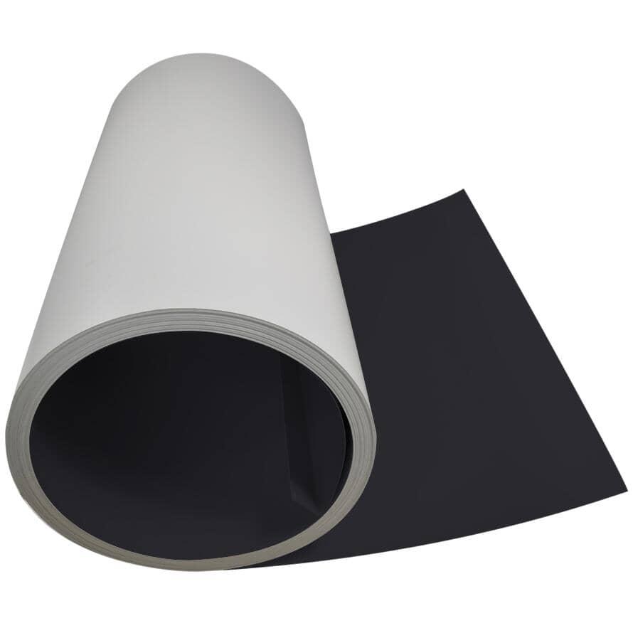 """GENTEK:24"""" x 98.5' Semi Gloss Black Aluminum Flatstock"""