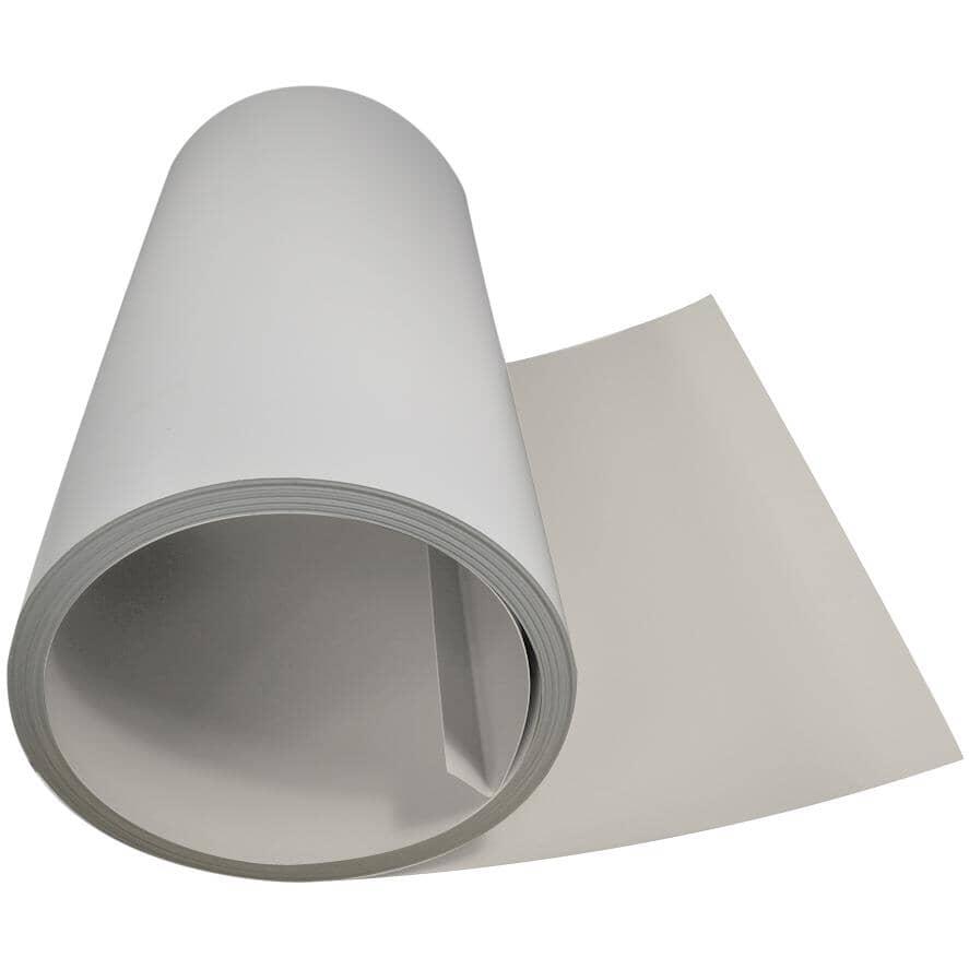 "GENTEK:24"" x 98.5' Cashmere/White Aluminum Flatstock"