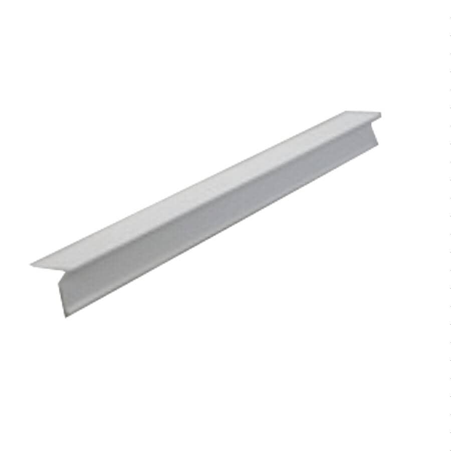 """KAYCAN:4"""" x 10' White Aluminum Drip Edge"""