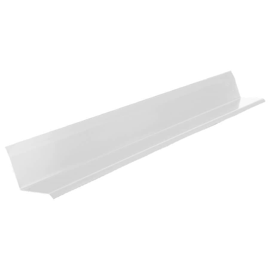 """KAYCAN:9' 10"""" Semi Gloss White Aluminum Eavestarter"""