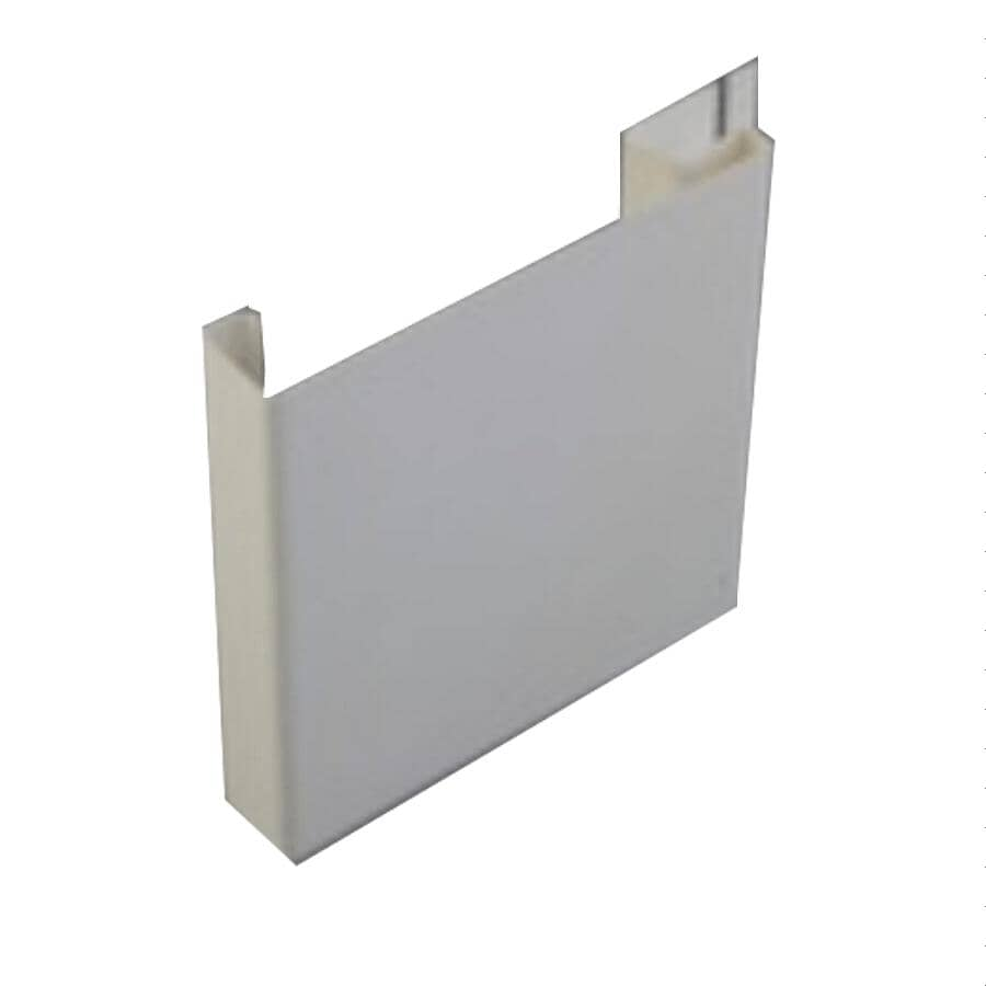 "KAYCAN:5"" x 12' White Vinyl Window Surround"