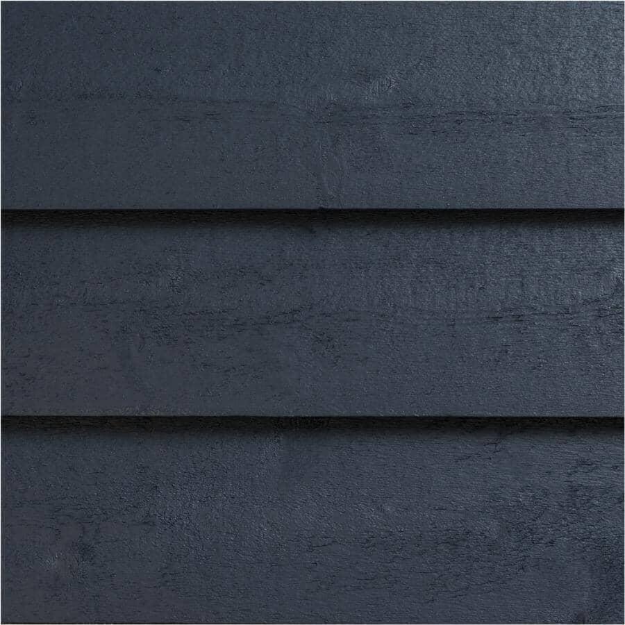 "FRASER WOOD SIDING:1"" x 6"" Classic Slate Grey Bevel Wood Siding, by Linear Foot"