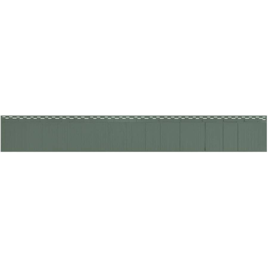 """KAYCAN:Single 7"""" Perfection Forest Green Vinyl Siding"""