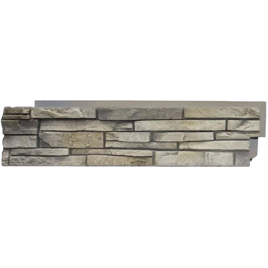 QUALITY STONE:Limestone Left Hand Stone Corner Panel