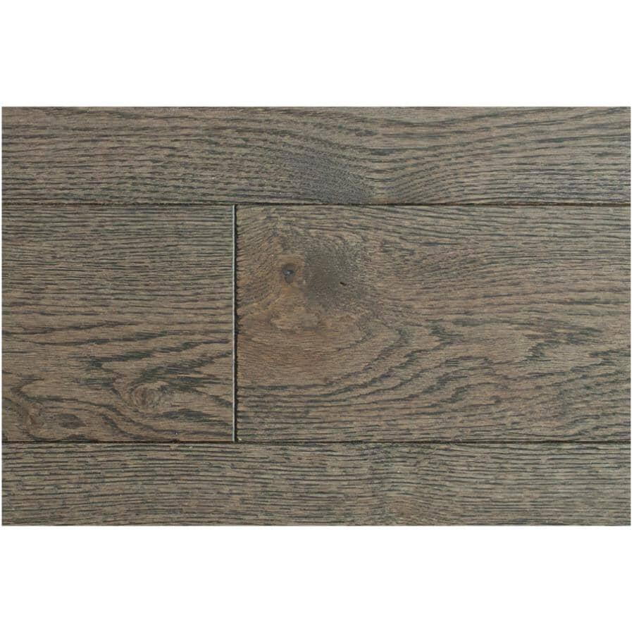 """GOODFELLOW:Originals Nature Collection 3/4"""" x 4-1/4"""" Wire Brushed Red Oak Hardwood Flooring - Distinct, 19 sq. ft."""