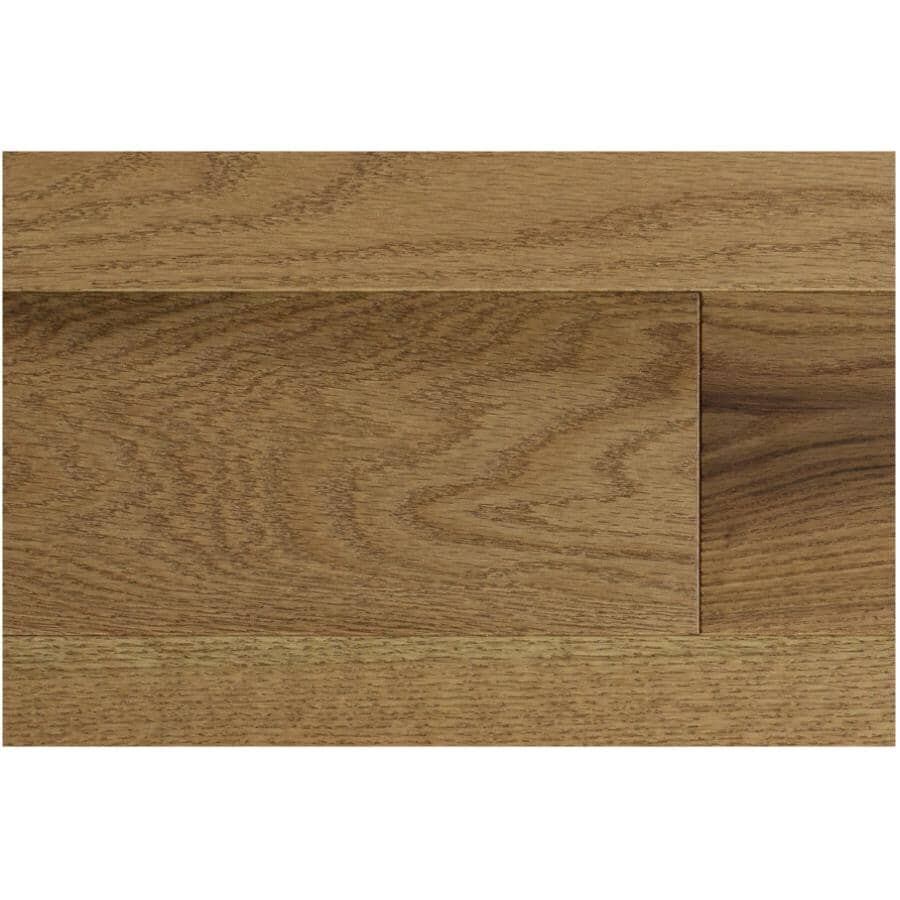 """GOODFELLOW:Originals Nature Collection 3/4"""" x 3-1/4"""" Wire Brushed Red Oak Hardwood Flooring - Cascade, 20 sq. ft."""