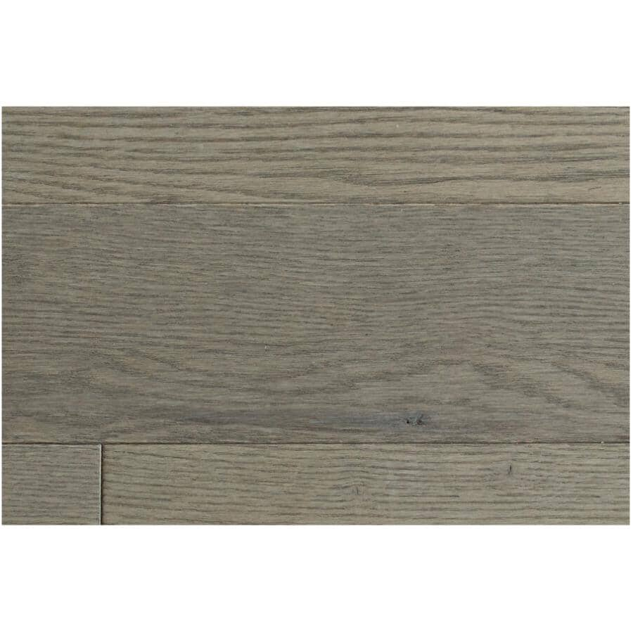 """GOODFELLOW:Originals Nature Collection 3/4"""" x 3-1/4"""" Wire Brushed Red Oak Hardwood Flooring - Delta, 20 sq. ft."""