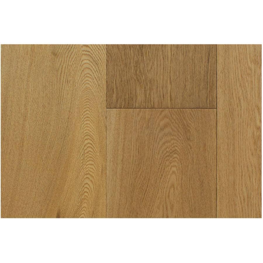 "GOODFELLOW:San Marino Collection 7.7"" x 74.8"" Engineered Oak Hardwood Flooring - Natural, 25.83 sq. ft."