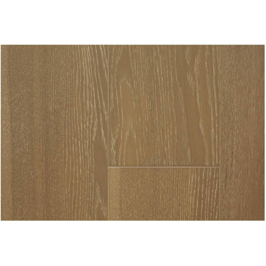"GOODFELLOW:San Marino Collection 7.7"" x 74.8"" Engineered Oak Hardwood Flooring - Stone, 25.83 sq. ft."