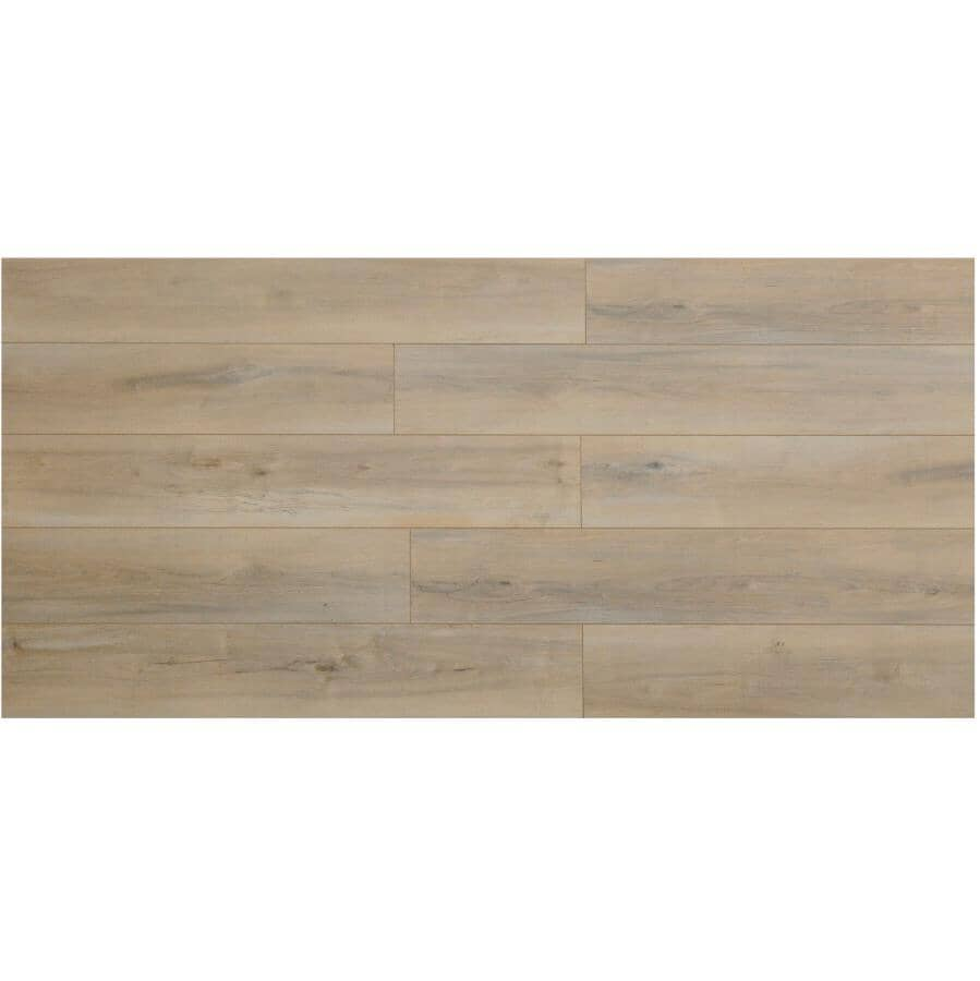 """TAIGA BUILDING PRODUCTS:AdorePlus Collection 7"""" x 48"""" Laminate Plank Flooring - Clare, 20.52 sq. ft."""
