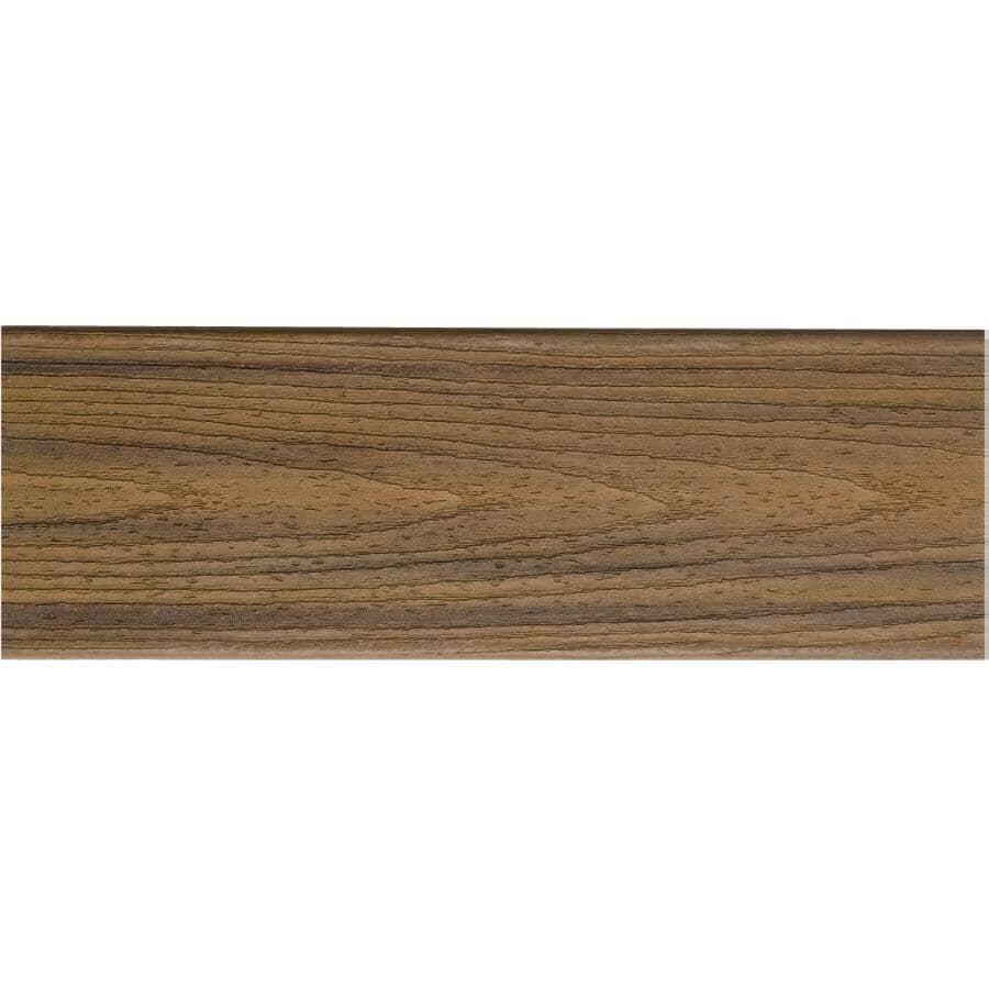 TREX:Planche de terrasse Transcend de 1 po x 5-1/2 po x 20 pi avec rebord carré, Havana Gold