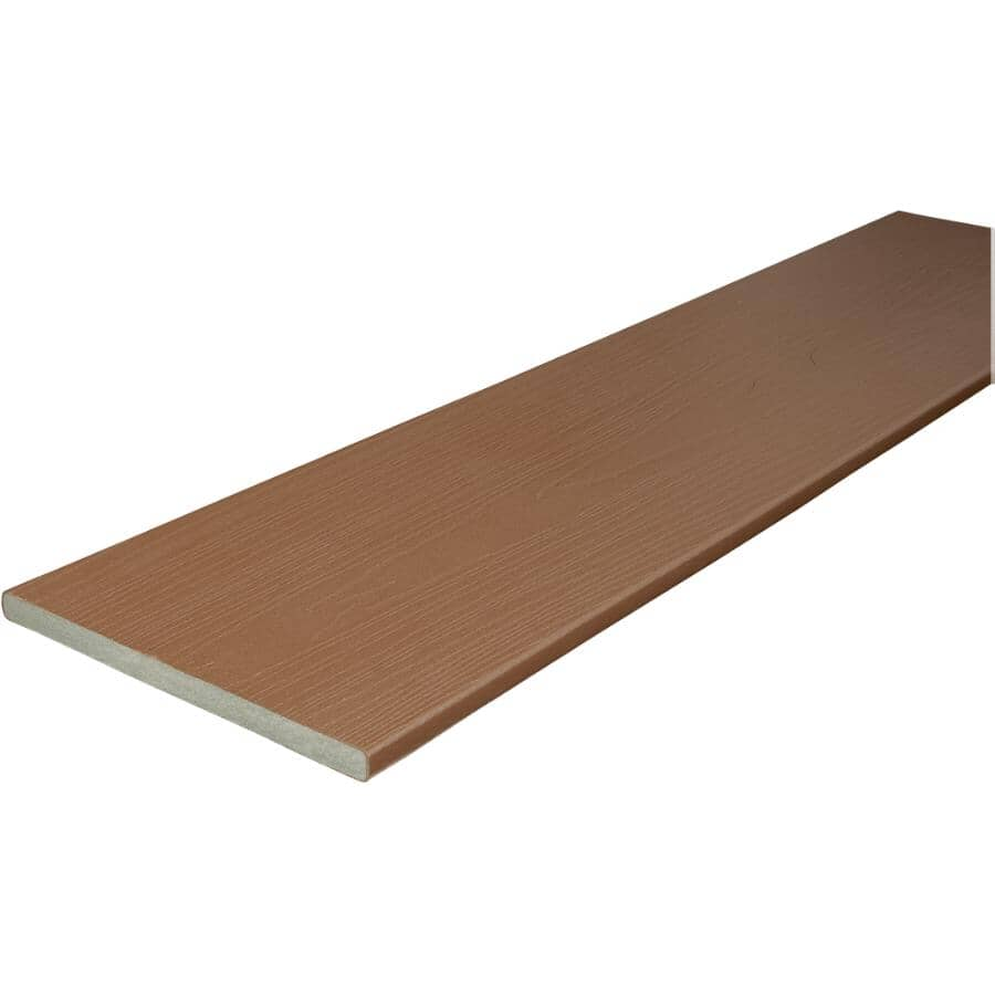 FIBERON:Panneau de planches de terrasse Good Life de 0,75 po x 11,25 po x 12 pi, chalet
