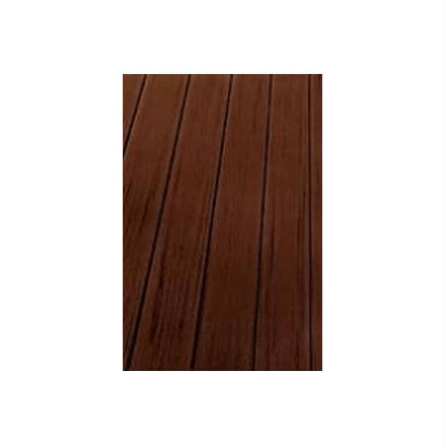 TREX:Planche de terrasse Transcend de 1 po x 5-1/2 po x 16 pi avec rebord carré, Spiced Rum