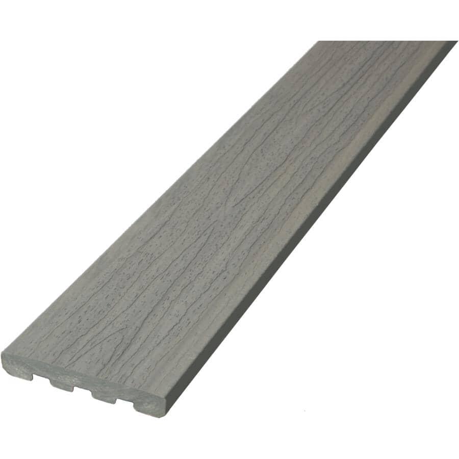 DECKORATORS:Planche de terrasse de 7/8 po x 5-1/2 po x 20 pi Trailhead Ridgeline avec rebord carré