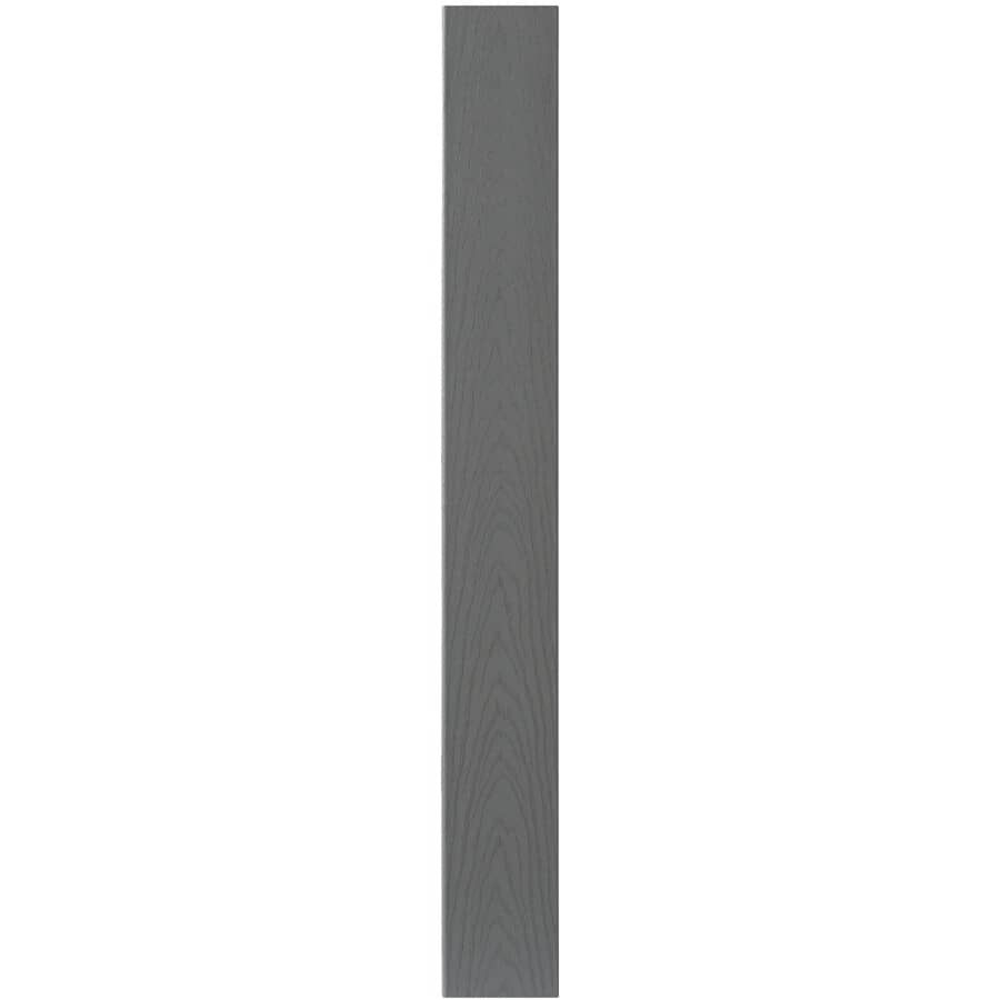 "TREX:7/8"" x 5-1/2"" x 12' Select Pebble Grey Square Edge Decking"