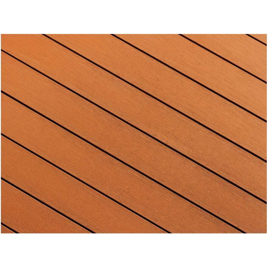 "TRUNORTH DECK:1"" x 5-1/8"" x 12' AccuSpan Caramel Grooved Edge Deck Board"