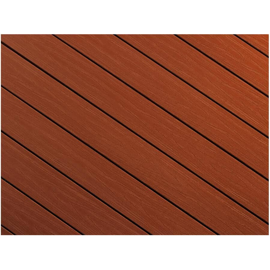 """TRUNORTH DECK:1"""" x 8"""" x 12' Bordeaux Fascia Deck Board"""