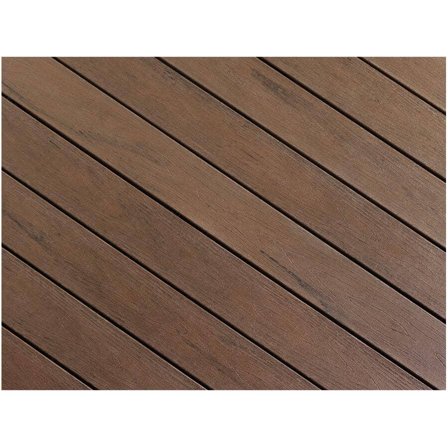 "TRUNORTH DECK:1"" x 8"" x 12' Tropical Walnut Fascia Deck Board"