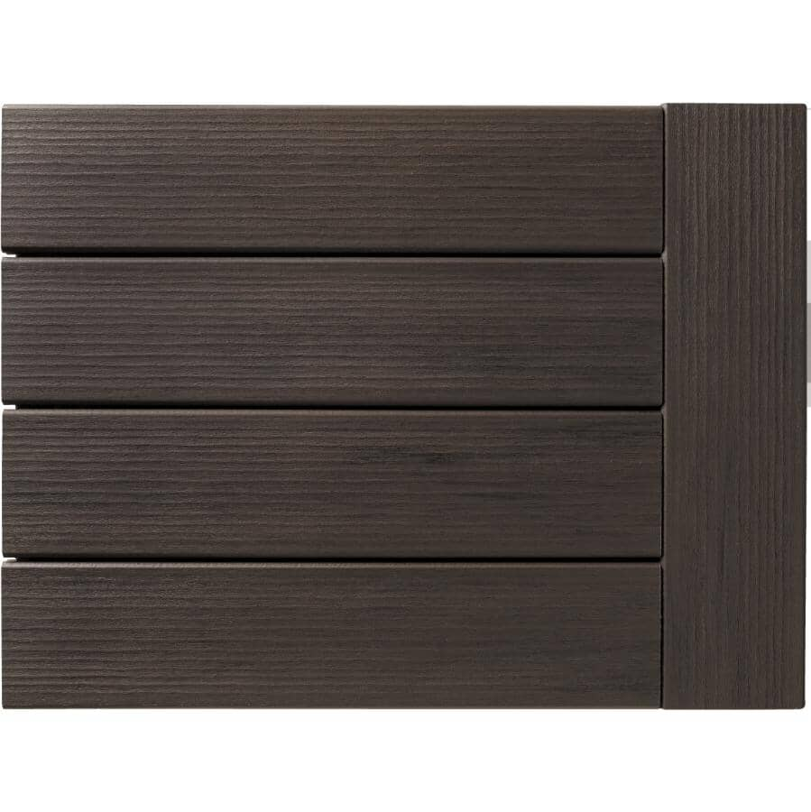 """TIMBERTECH:1"""" x 5-1/2"""" x 12' Legacy Espresso Grooved Edge Deck Board"""
