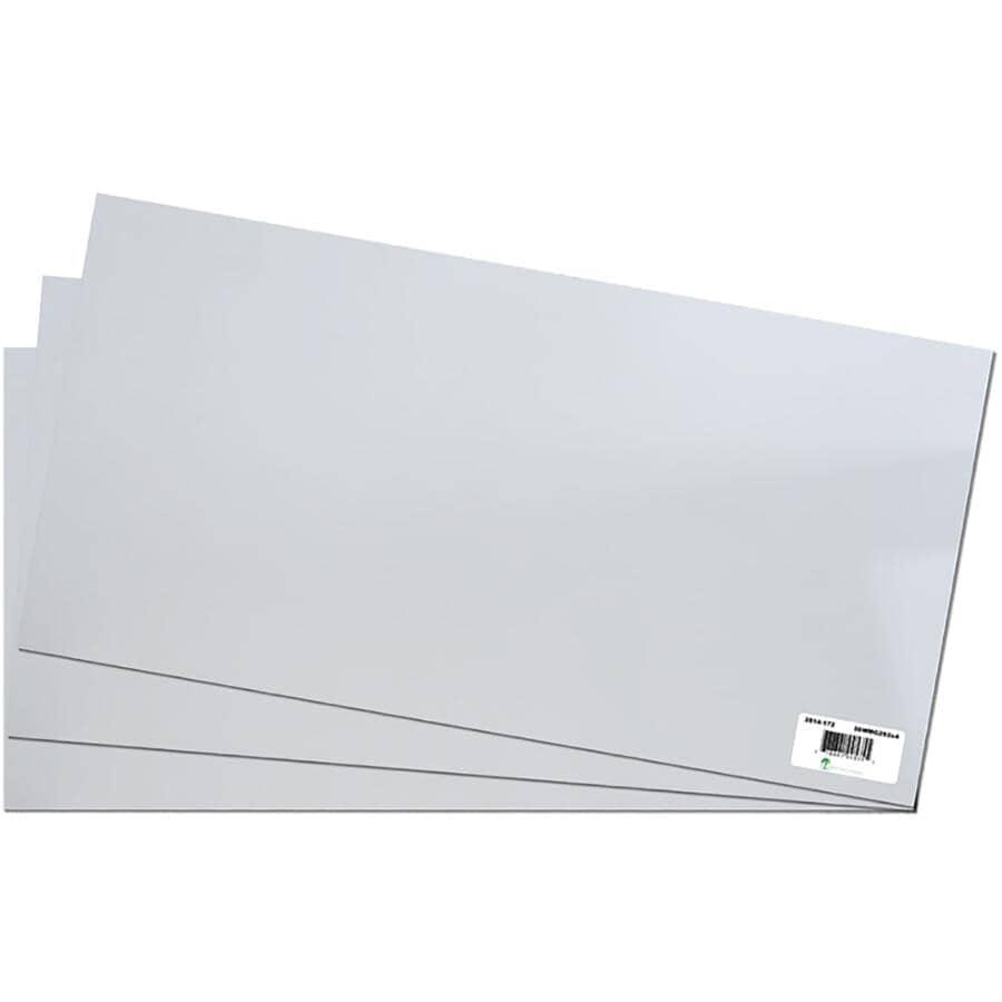 "AMHERST:2' x 4' x 5/8"" (15.5 mm) White Melamine Panel"