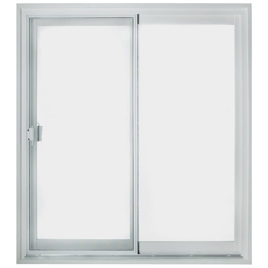 "KOHLTECH:5' x 6'8"" Select FO Low-e Glass PVC Patio Door"