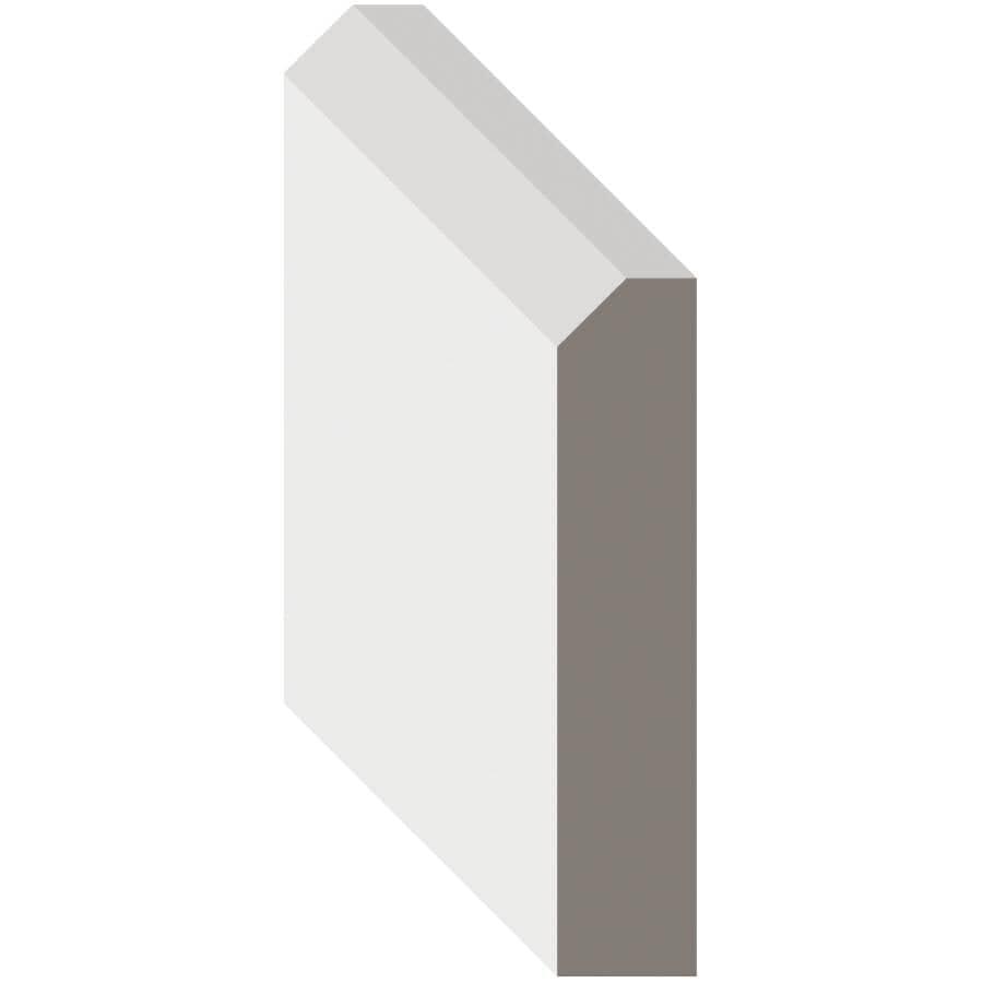 "METRIE:10 Pack 1/2"" x 2-1/2"" x 8' Contemporary Primed Medium Density Fibreboard Casing Moulding"