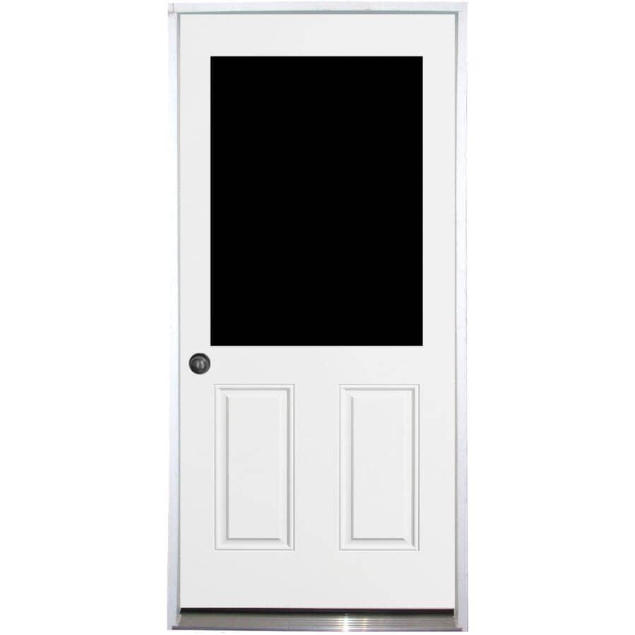 """DOORSMITH:34"""" x 80"""" Utility Right Hand Steel Door - with 22"""" x 36"""" Lite"""