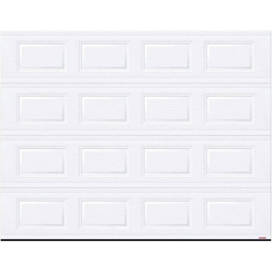 GARAGA:9' x 7' R12 Artic12 Steel Garage Door