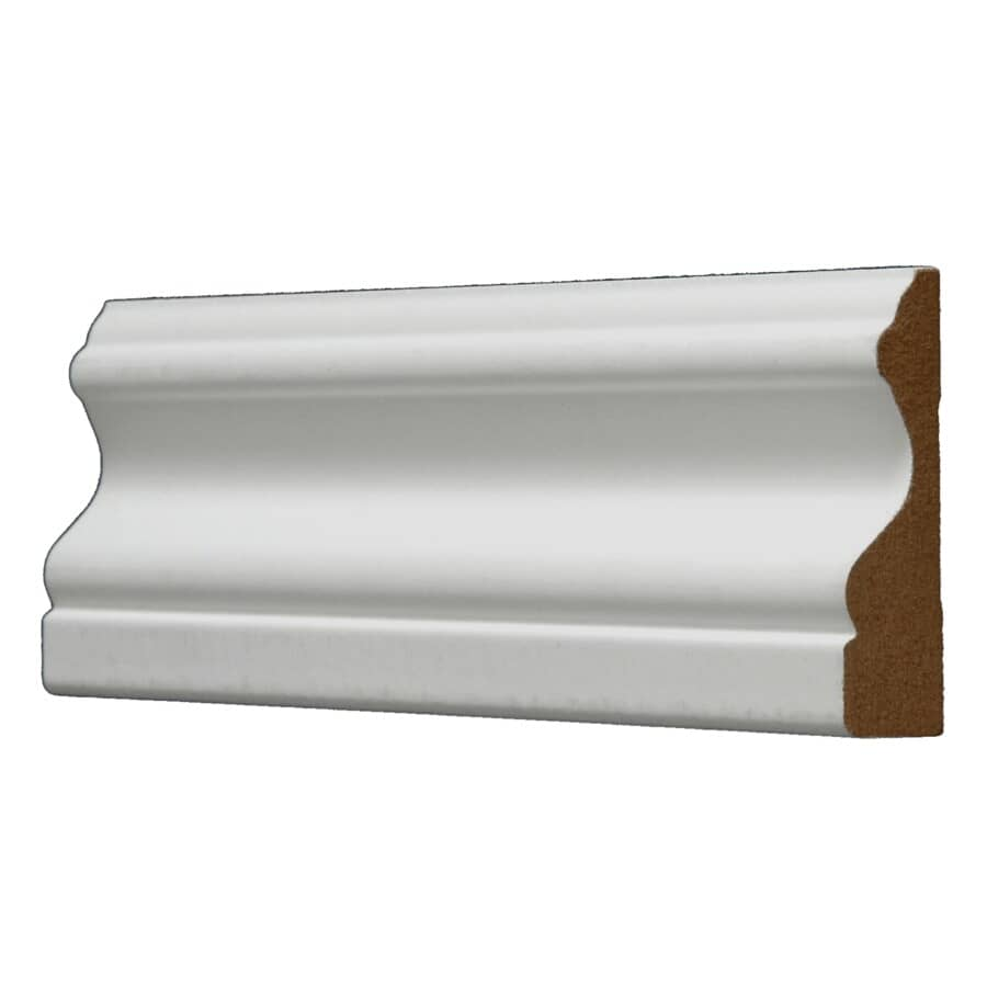 "ALEXANDRIA MOULDING:5/8"" x 2-3/4"" x 8' Medium Density Fibreboard Painted Colonial Casing Moulding"