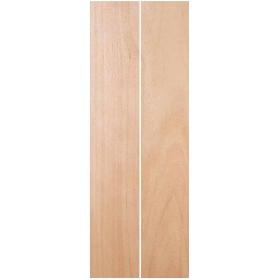 """JELD-WEN:24"""" x 80"""" Mahogany Stained Bifold Door"""