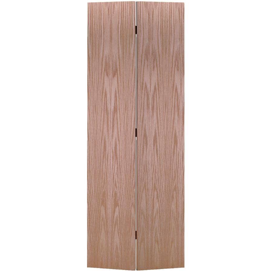 """MASONITE:30"""" x 80"""" Red Oak Bifold Door"""
