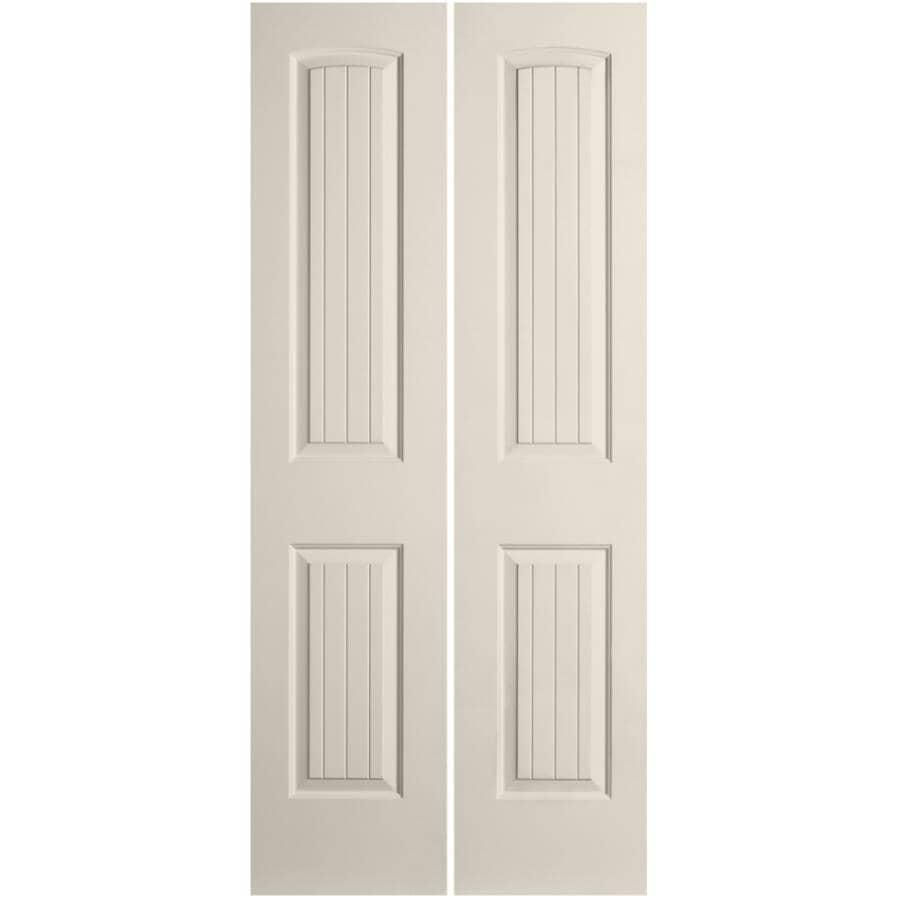 """JELD-WEN:18"""" x 80"""" Santa Fe Bifold Door"""