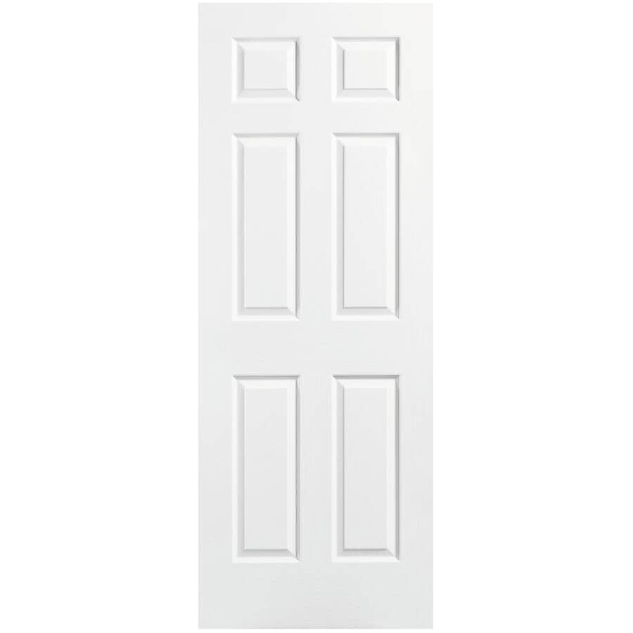 """MASONITE:22"""" X 80"""" 6 Panel Fast Fit Door, with Finger Jointed Pine Jamb"""