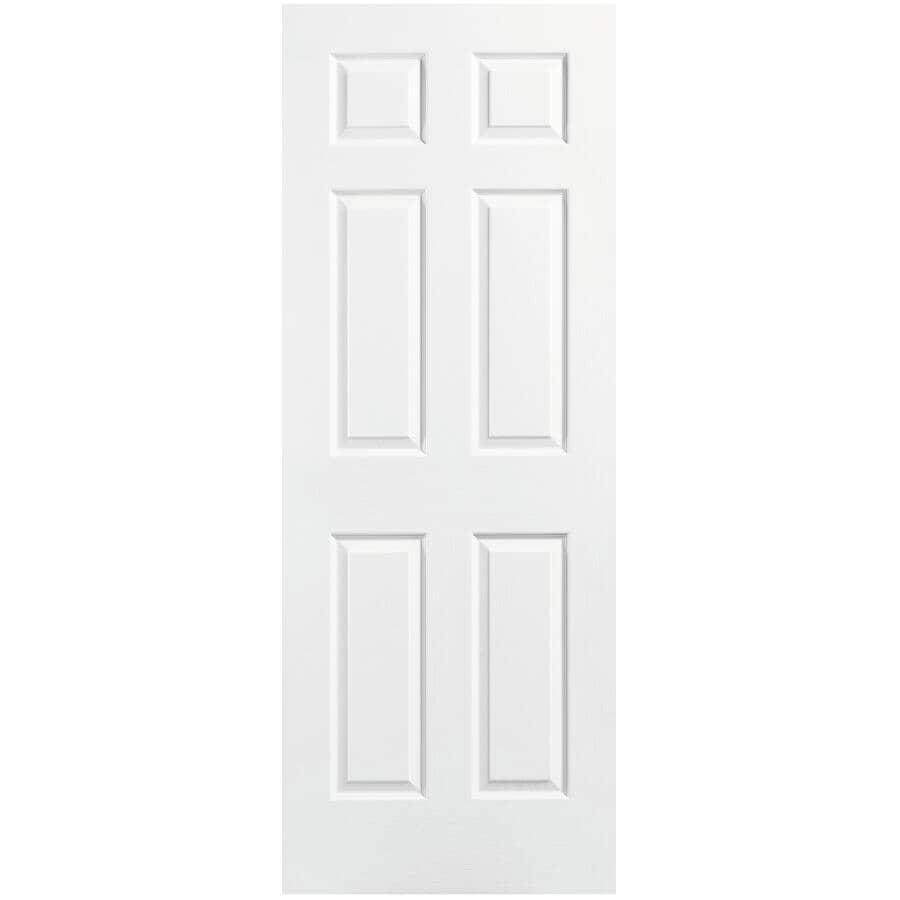 "MASONITE:28"" X 80"" 6 Panel Fast Fit Door, with Medium Density Fibreboard Jamb"