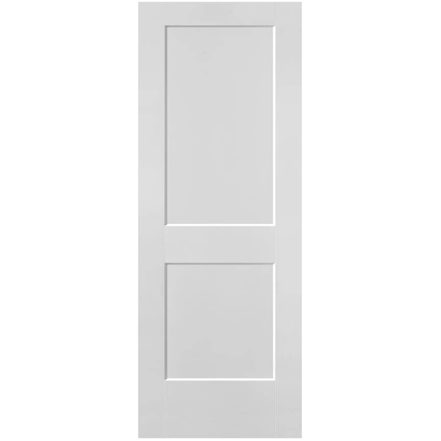 """MASONITE:34"""" X 80"""" 2 Panel Logan Fast Fit Door, with Finger Jointed Pine Jamb"""