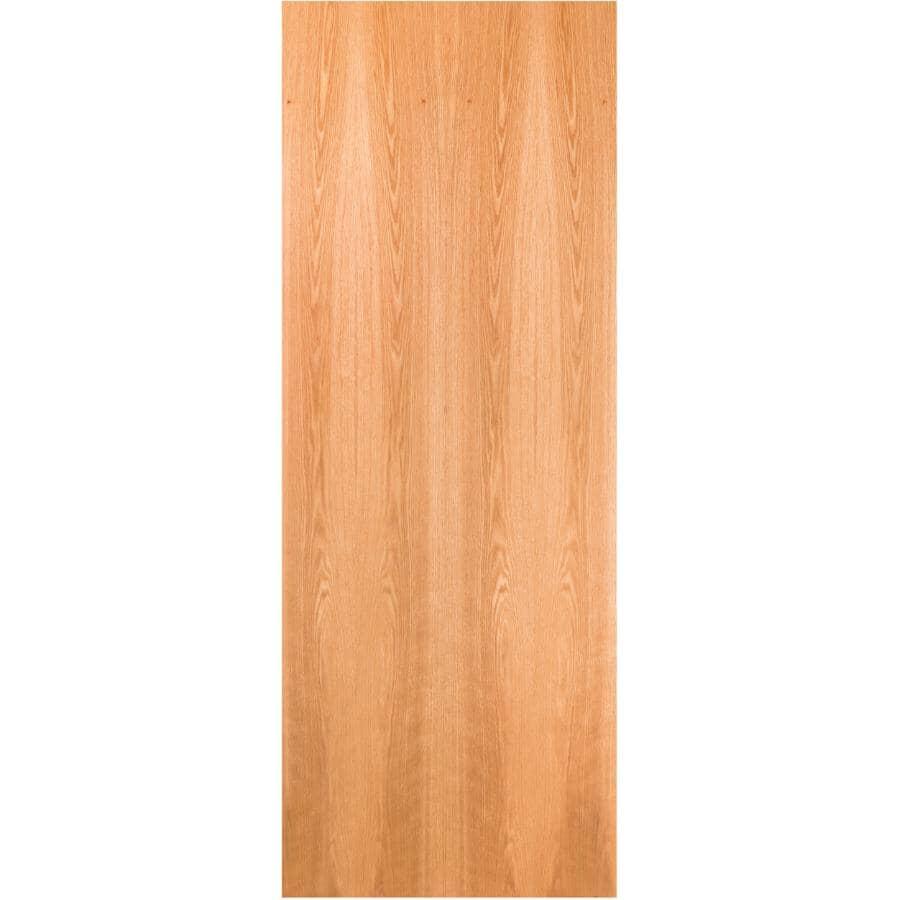 """LYNDEN DOOR:Red Oak Slab Door - 32"""" x 80"""""""