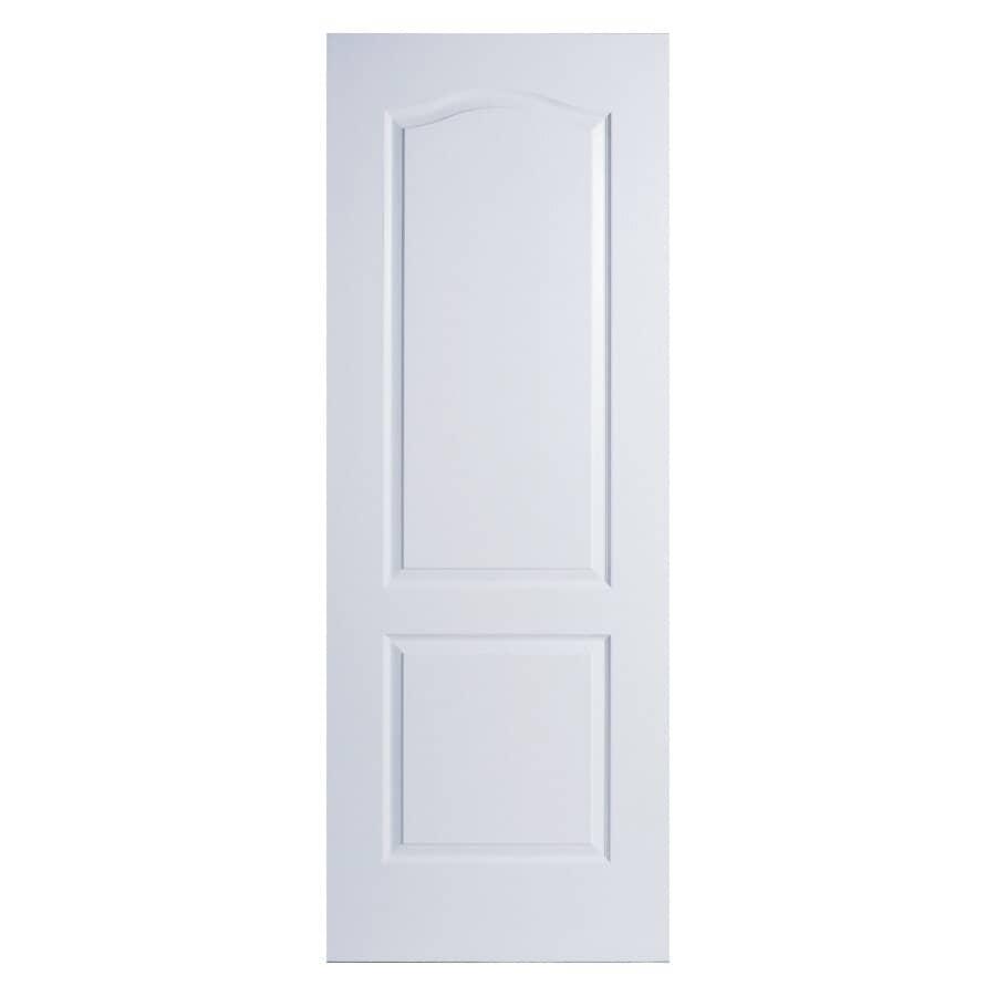 """MASONITE:2 Panel Arch Safe N' Sound Slab Door - 32"""" x 80"""""""
