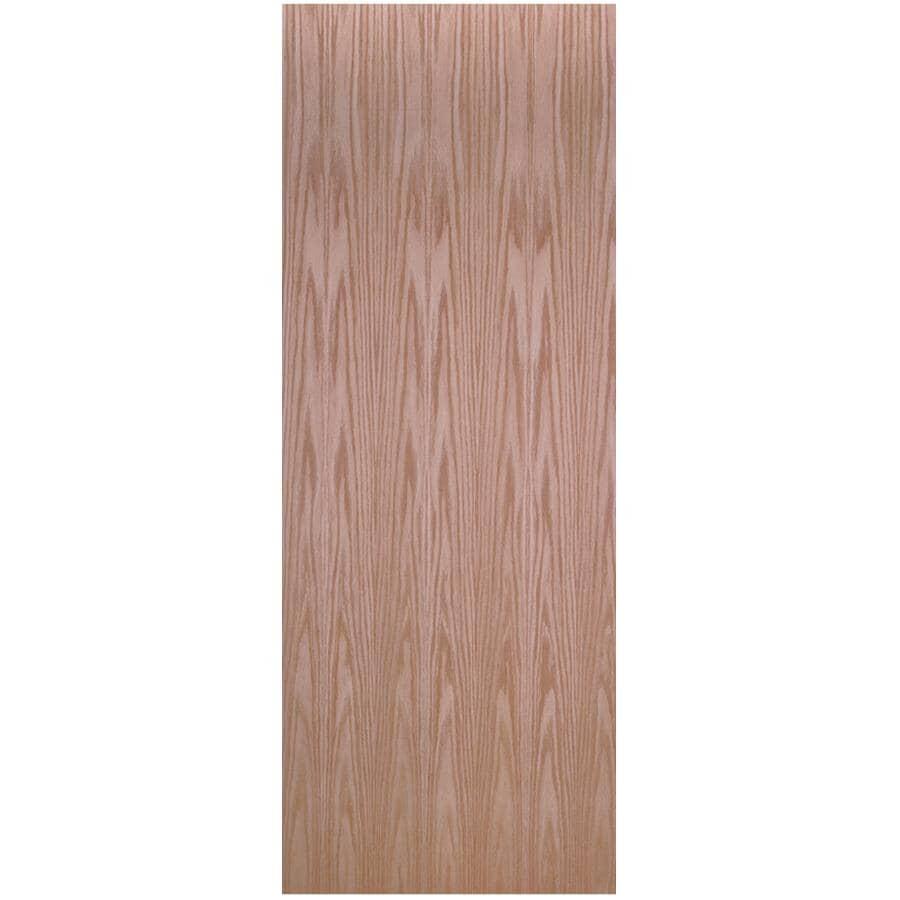 "MASONITE:36"" x 80"" Red Oak Slab Door"
