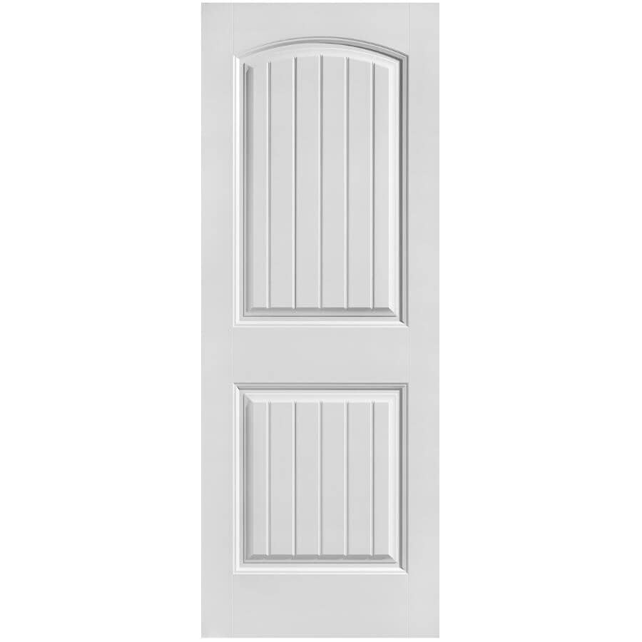 """MASONITE:24"""" x 80"""" Cheyenne Left Hand Pre-hung Door, with Primed Finger Jointed Jamb"""