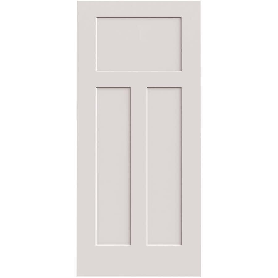 """LYNDEN DOOR:18"""" x 80"""" Yarrow Right Hand Pre-Hung Door - with 4-9/16"""" Rabbeted Jamb"""